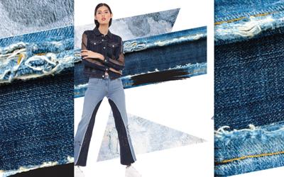 Inspirasi Tampil Beda dengan Memodifikasi Jeans