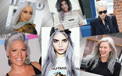 Tetap Terlihat Muda dan Keren dengan Granny Hair