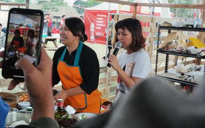 Pesta Makan di Festival Keuken