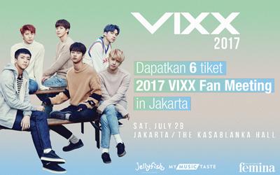 Ini Dia Daftar Pemenang Kuis 2017 VIXX Fan Meeting in Jakarta
