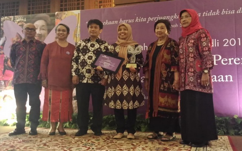 Masnu'ah, Penerima Anugerah Saparinah Sadli 2018, Mengangkat Harkat Perempuan Nelayan