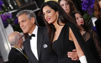 George Clooney & Amal Clooney Mendonasikan Uang untuk Melawan Kebijakan Pemisahan Anak Imigran