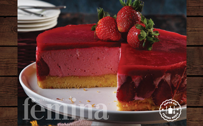 Resep Strawberry Mousse Cake