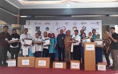 Peserta Audisi Lomba Masak Ikan Nusantara Mataram Tetap Semangat Meski Dilanda Gempa
