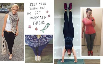 #MermaidThighs, Standar Tubuh Ideal Terbaru untuk Menyurutkan Thigh Gap
