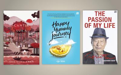 3 Buku Pilihan Minggu Ini: Cantik itu Luka Hingga Happy Yummy Journey