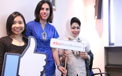 #SheMeansBusiness, Kolaborasi Facebook dan IWAPI Dukung Pengusaha Wanita di Indonesia
