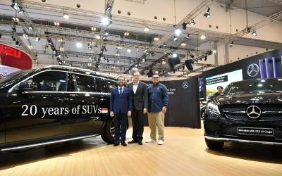 Mercedes-Benz Merayakan 20 tahun Kehadiran SUV Mewah di GIIAS 2018