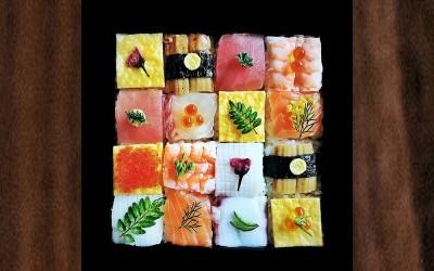 Menggemaskan! Sushi Dibentuk Seperti Bunga Plum, Donat, Hingga Menara.
