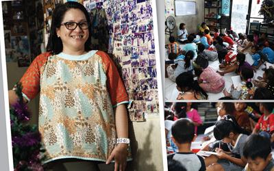 Yudith Arwendha Arselan, Mengabdikan Diri di Kawasan Kumuh, Menghadirkan Senyum Di Wajah Anak-Anak