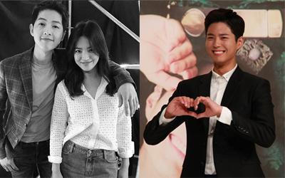 Menerima Kiriman Truk Minuman Kopi dari Song Joong-ki dan Song Hye-kyo, Ini Respons Park Bo-gum
