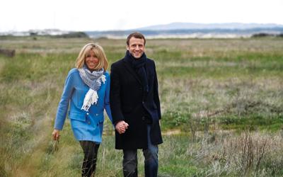 Kisah Cinta Presiden Prancis, Emmanuel Macron dan Brigitte Trogneux, Beda Usia 24 Tahun Bukan Masalah