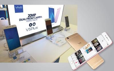 Vivo V5 Plus, Smartphone dengan 20MP Dual Front Camera Bikin Selfie Sekeren Bidikan Fotografer Profesional