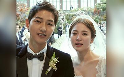 Mengintip Foto-foto Pernikahan Song Hye-kyo dan Song Joong-ki