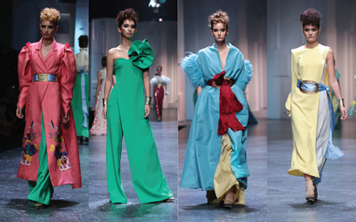 Warna-Warni Berani dalam Koleksi Teranyar Sebastian Gunawan