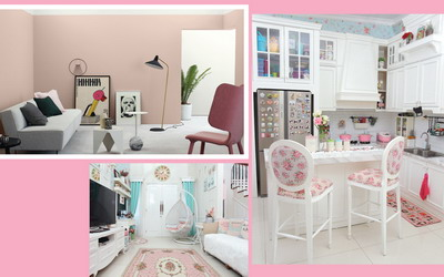 Tip Mengaplikasikan Warna Pink di 6 Ruangan Rumah
