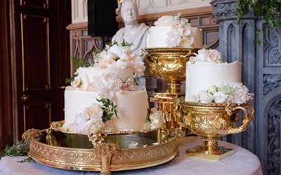 Royal Wedding Cake Meghan Markle dan Pangeran Harry Tampil Memukau