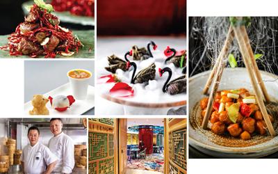 Black Swan dari Kanton di Restoran Li Feng, Hotel Mandarin Oriental Jakarta