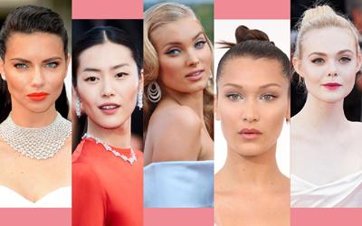 10 Selebritas dengan Rias Wajah Terbaik di Cannes Film Festival 2017