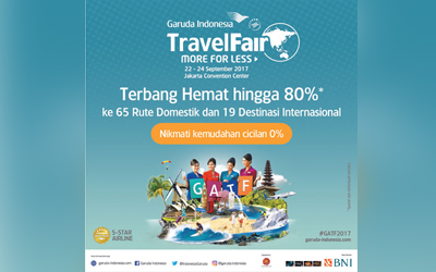 Hari Ini, Garuda Indonesia Travel Fair 2017 Digelar, Harga Tiket PP Jakarta – Seoul Mulai dari Rp2,9 Juta