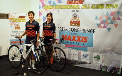 Duet Srikandi Sepeda Indonesia Siap Rebut Juara di Tanjakan Paling Curam di Asia