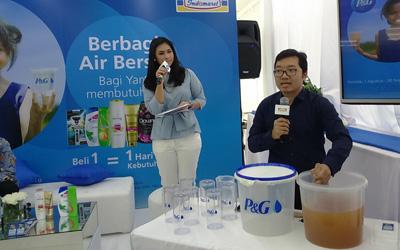 Program Berbagi Air Layak Minum di Pelosok Indonesia