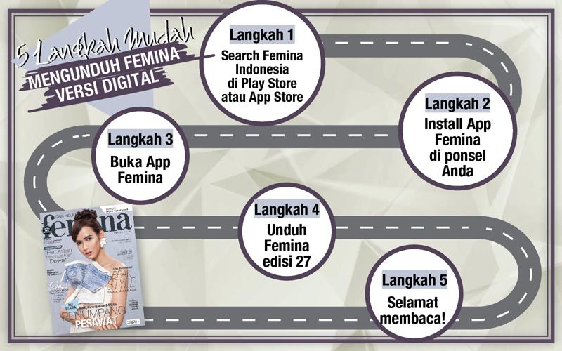 5 Langkah Mudah Mengunduh E-Magz Femina Edisi 27/2017