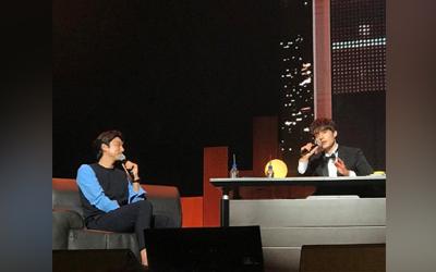 Reuni Goblin dan Grim Reaper di Fan Meeting Lee Dong-wook Asia Tour