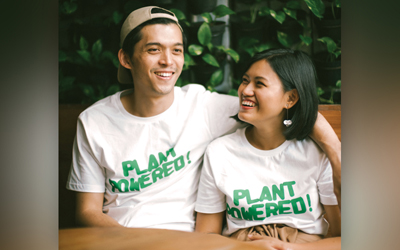 Max Mandias & Helga Angelina, Disatukan Oleh Makanan Vegan