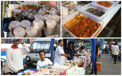 Pasar Kaget Ramadan di Jalan Panjang, Jakarta Barat