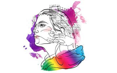 Cerpen: Perempuan Pelangi di Seberang Rumah