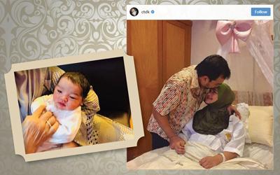 Ini Nama Sementara Bayi Siti Nurhaliza yang Lahir Setelah 11 Tahun Penantian