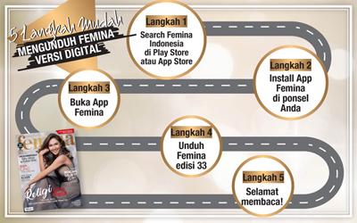 5 Langkah Mudah Mengunduh E-Magz Femina Edisi 33/2017