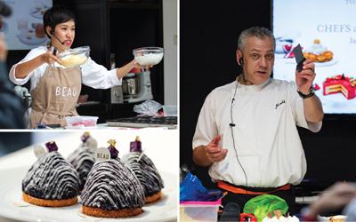 Executive Pastry Chef Pullman Jakarta Meracik Krim Produksi Eropa