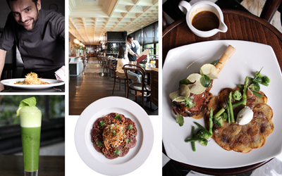 Racikan Fine Dining di The Immigrant Dining Room