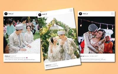 Buat Pernikahan Lebih Seru dengan Instagram