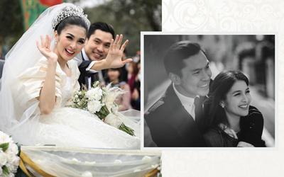 Pernikahan Impian Sandra Dewi dan Harvey Moeis