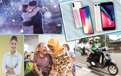 5 Berita Heboh Sepekan: Pembukaan Pendaftaran CPNS, Duet Suzy dan Lee Jong-suk, Hingga Peluncuran IPhone X dan IPhone 8