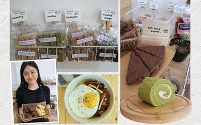 Cookies dan Cake di Arai Bakeshop & Brunch