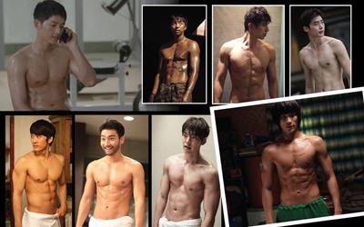 8 Aktor Korea Pamer Perut, Mulai dari Gong Yoo Hingga Song Joong-ki