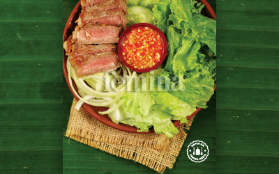 Resep Yam Nua Yang