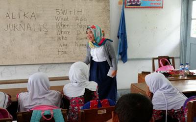 Gaya Hidup Masa Kini: Menjadi Relawan Pendidikan untuk Anak-Anak