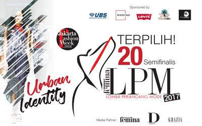 Terpilih! 20 Semifinalis Lomba Perancang Mode 2017