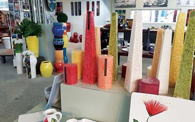 Warna-Warni Keramik Artisan di Matakana, Auckland, Selandia Baru