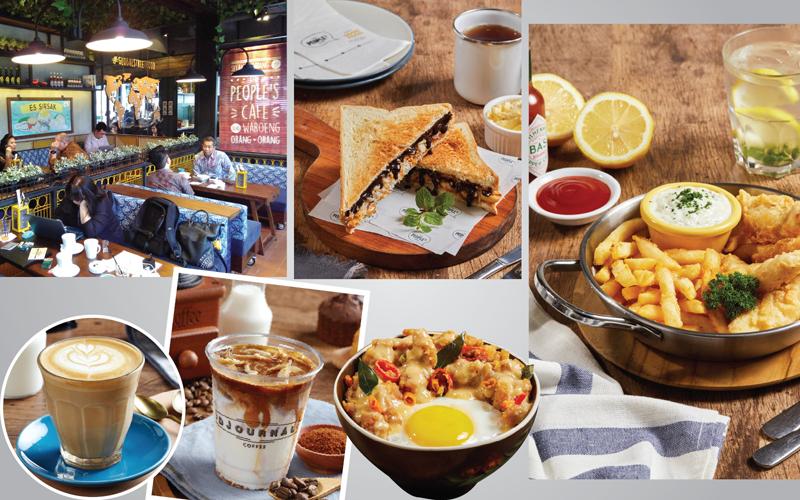 Menikmati Bersantai di The People's Cafe with Djournal Coffee