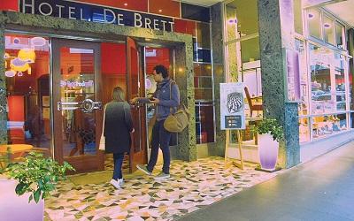 Pesona Hotel Brett yang Eklektik di Auckland, Selandia Baru
