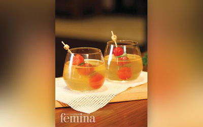Resep Chilled Tomato Concomme