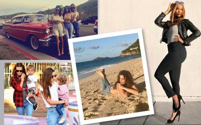 10 Gaya Mom Jeans ala Katie Holmes, Tyra Banks, sampai Kim Kardashian