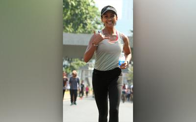 Melanie Putria Akan Ikut New York City Marathon 2018, Begini Persiapannya