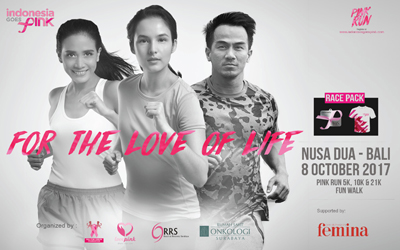 Peduli Kesehatan Payudara? Saatnya Mengikuti INDONESIA GOES PINK 2017 di Bali!